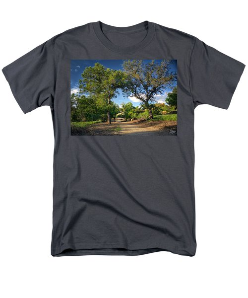 Two Old Oak Trees Men's T-Shirt  (Regular Fit) by Endre Balogh