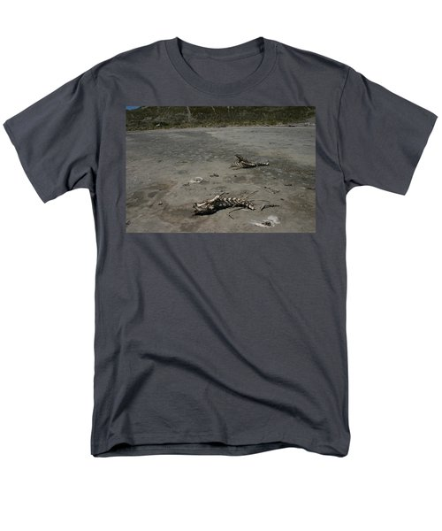 Men's T-Shirt  (Regular Fit) featuring the photograph Two Or 2 Halves Of 1 by Marie Neder