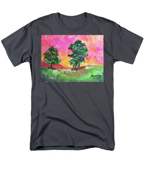 Two Trees Men's T-Shirt  (Regular Fit) by Janet Garcia
