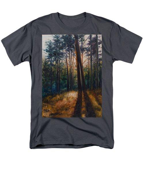 Two Trees Men's T-Shirt  (Regular Fit) by Rick Nederlof