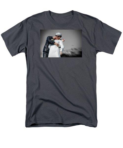 Unconditional Surrender 1 Men's T-Shirt  (Regular Fit) by Susan  McMenamin