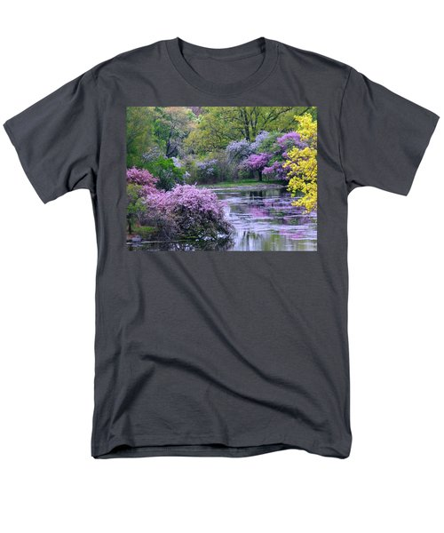 Under Spring's Spell Men's T-Shirt  (Regular Fit) by Living Color Photography Lorraine Lynch