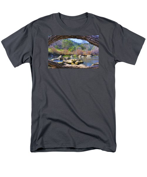 Under The Arch Men's T-Shirt  (Regular Fit) by Josephine Buschman