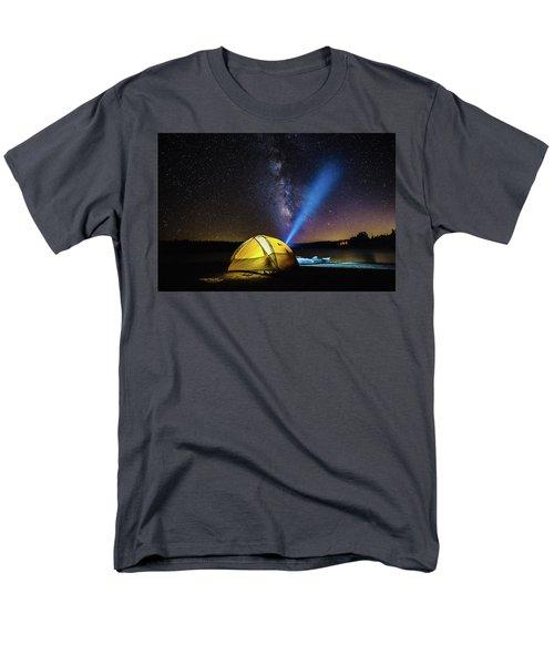 Under The Stars Men's T-Shirt  (Regular Fit) by Alpha Wanderlust