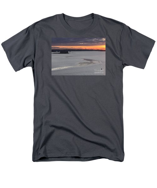 Undercurrents Casco Bay Men's T-Shirt  (Regular Fit) by Patricia E Sundik