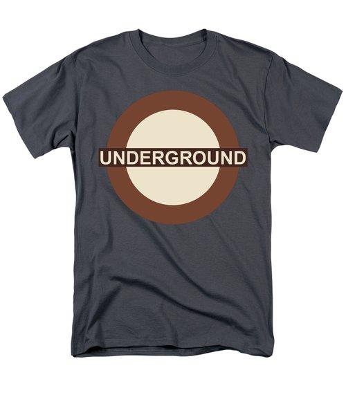 Underground75 Men's T-Shirt  (Regular Fit) by Saad Hasnain