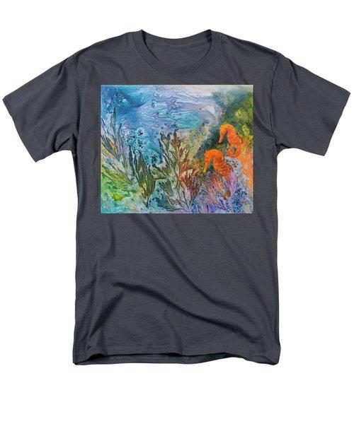 Undersea Garden Men's T-Shirt  (Regular Fit) by Nancy Jolley