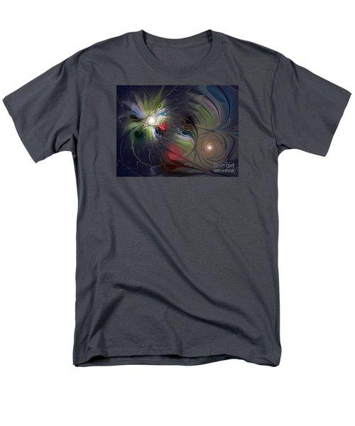 Men's T-Shirt  (Regular Fit) featuring the digital art Unfading by Karin Kuhlmann