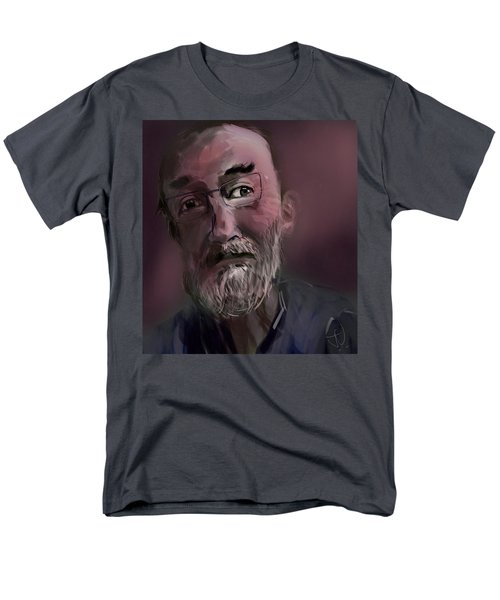 Men's T-Shirt  (Regular Fit) featuring the painting Untitled - 26nov2016 by Jim Vance