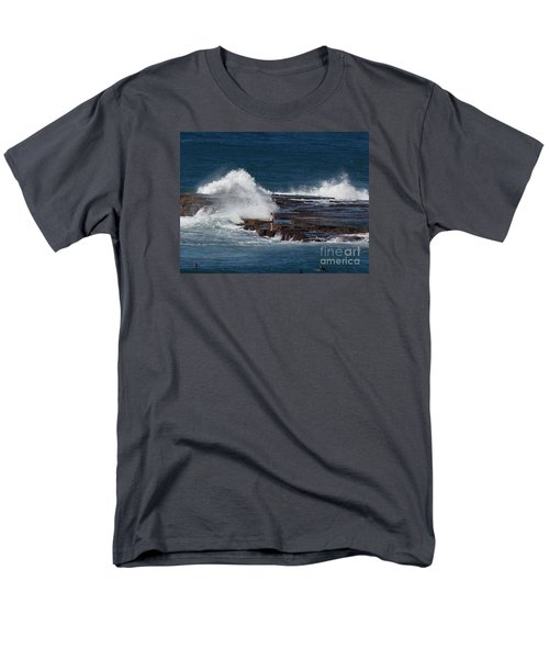 Unwitting Swimmer Men's T-Shirt  (Regular Fit) by Bev Conover