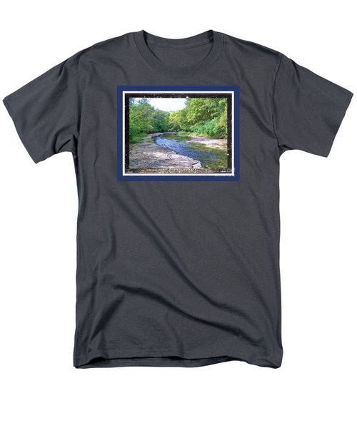 Up A Creek Men's T-Shirt  (Regular Fit) by Shirley Moravec