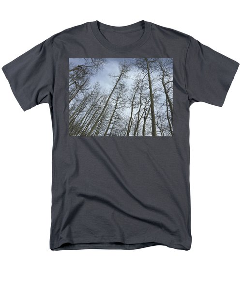 Up Through The Aspens Men's T-Shirt  (Regular Fit) by Christin Brodie