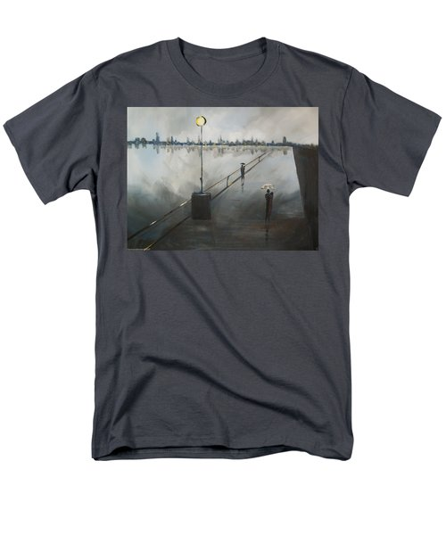Upon The Boardwalk Men's T-Shirt  (Regular Fit) by Raymond Doward