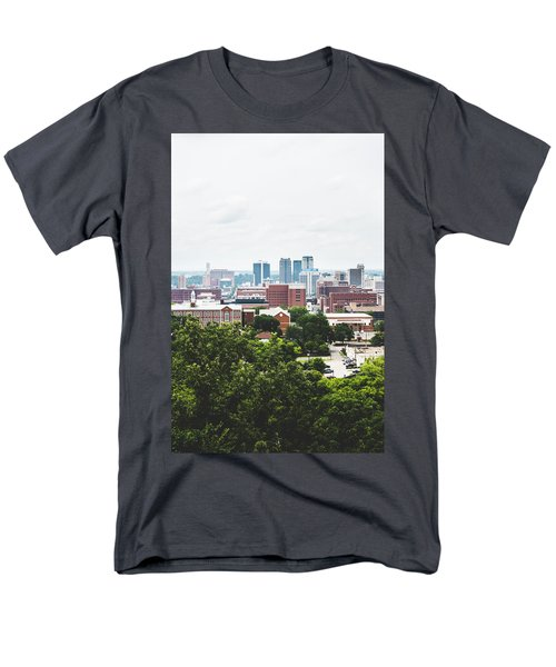 Men's T-Shirt  (Regular Fit) featuring the photograph Urban Scenes In Birmingham  by Shelby Young