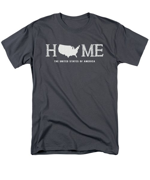 Usa Home Men's T-Shirt  (Regular Fit) by Nancy Ingersoll
