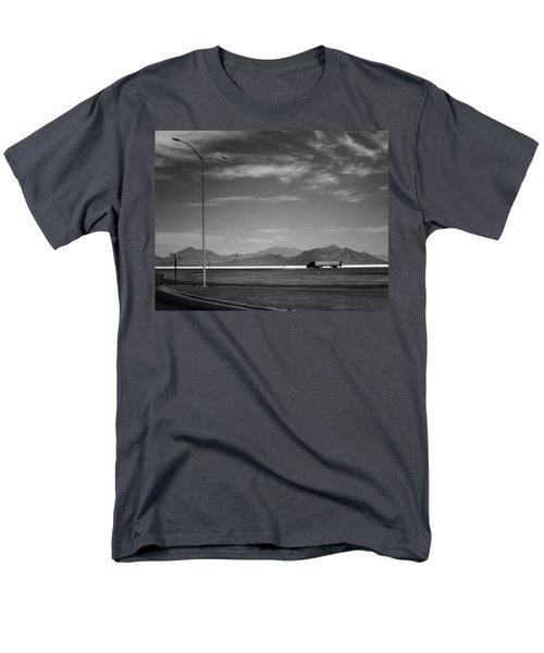 Utah Salt Flats Men's T-Shirt  (Regular Fit) by Art Shimamura