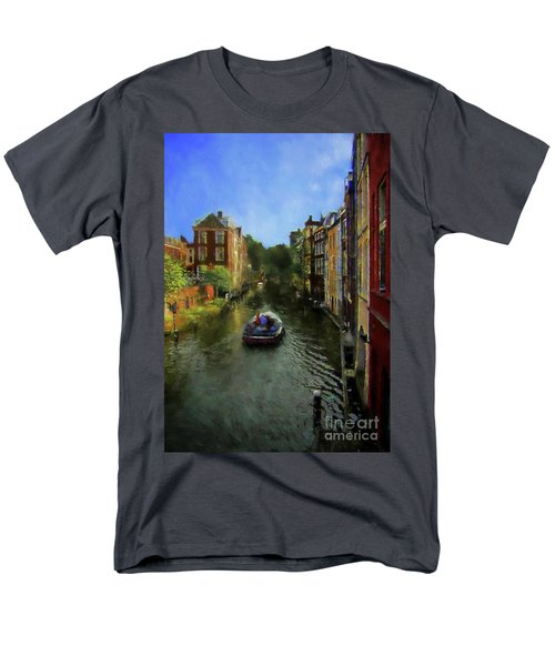 Utrecht, Holland Men's T-Shirt  (Regular Fit) by John Kolenberg
