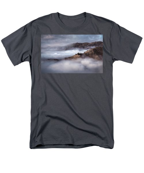 Valley In The Clouds Men's T-Shirt  (Regular Fit) by Brad Grove