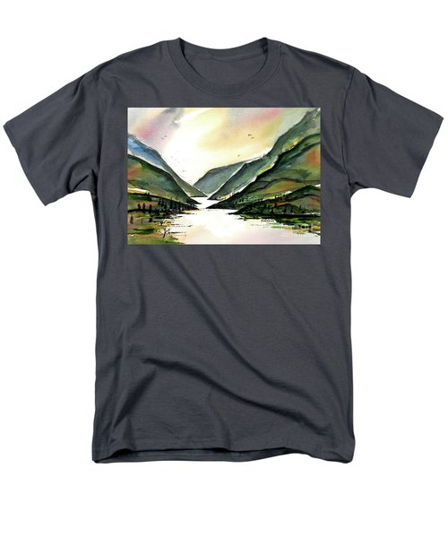 Valley Of Water Men's T-Shirt  (Regular Fit) by Terry Banderas