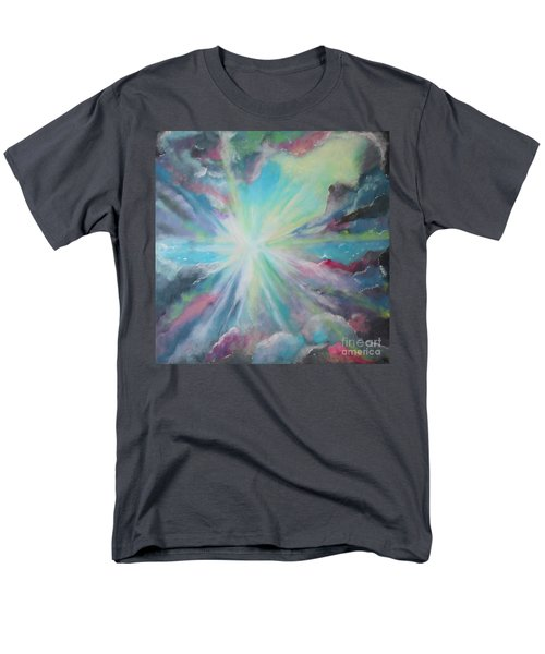 Men's T-Shirt  (Regular Fit) featuring the painting Inspire by Stacey Zimmerman