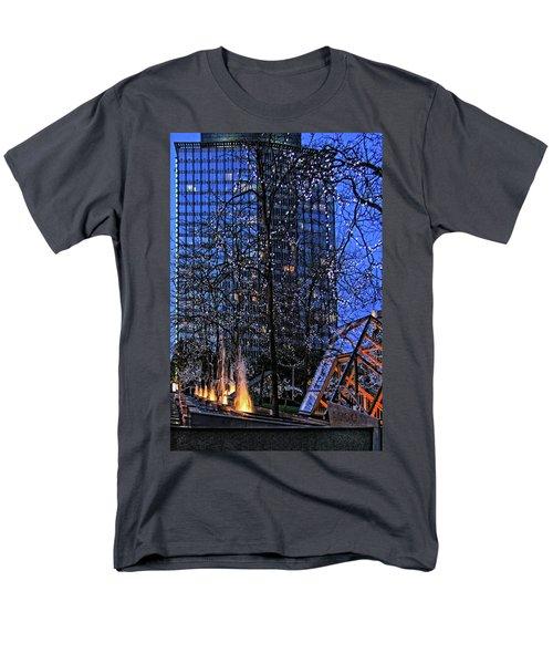 Vancouver - Magic Of Light And Water No 1 Men's T-Shirt  (Regular Fit) by Ben and Raisa Gertsberg