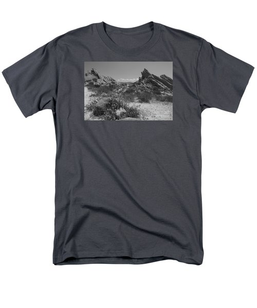 Vasquez Rocks Men's T-Shirt  (Regular Fit) by Ivete Basso Photography