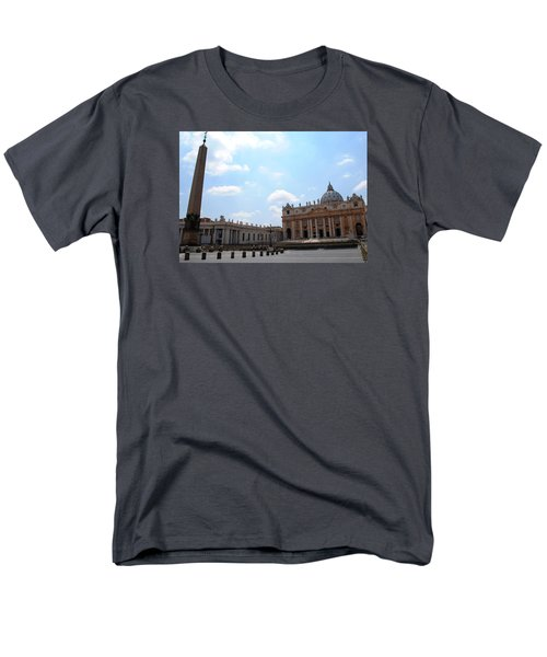 Vatican On Sunny Day Men's T-Shirt  (Regular Fit) by Robert Moss