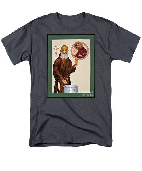Venerable Fr. Solanus Casey The Healer 038 Men's T-Shirt  (Regular Fit)