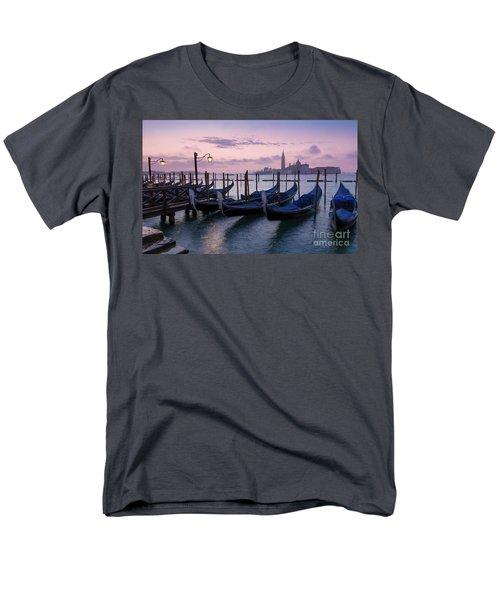 Men's T-Shirt  (Regular Fit) featuring the photograph Venice Dawn II by Brian Jannsen