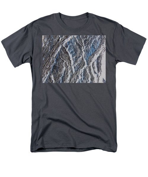 Men's T-Shirt  (Regular Fit) featuring the photograph Vertical Climb by Lenore Senior