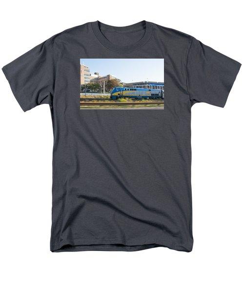 Via Rail Toronto Ontario Men's T-Shirt  (Regular Fit) by John Black