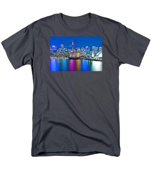 Vibrant Darling Harbour Men's T-Shirt  (Regular Fit)