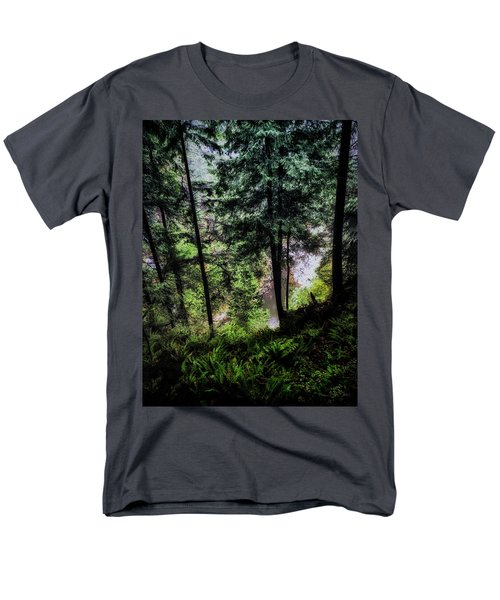 Men's T-Shirt  (Regular Fit) featuring the photograph View Downhill by Joseph Hollingsworth