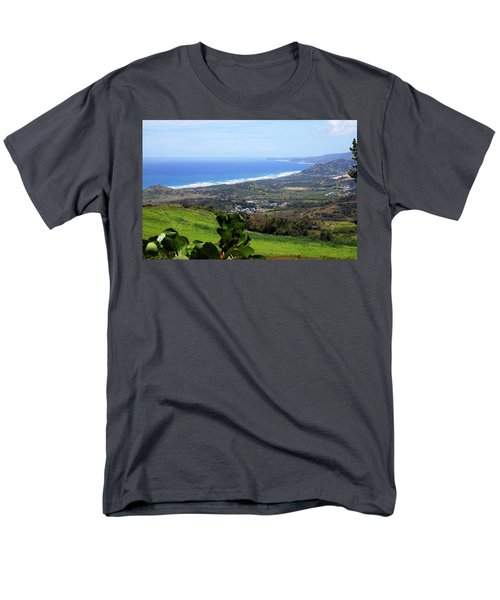 Men's T-Shirt  (Regular Fit) featuring the photograph View From Cherry Hill, Barbados by Kurt Van Wagner