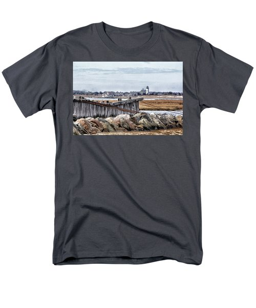 View From Mill Creek - Cold Men's T-Shirt  (Regular Fit) by Constantine Gregory