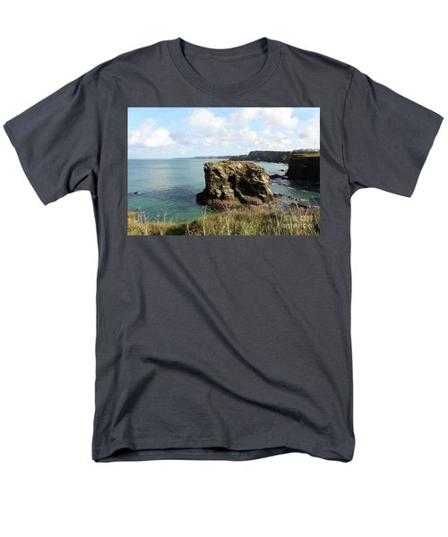 Men's T-Shirt  (Regular Fit) featuring the photograph View From Porth Peninsula by Nicholas Burningham
