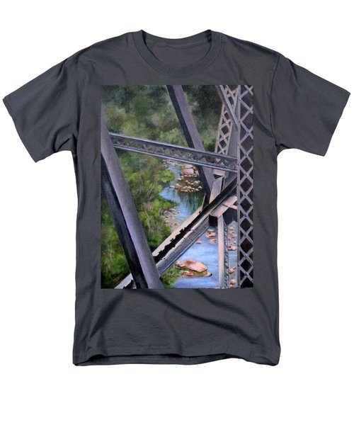View From The Bridge--sedona, Az Men's T-Shirt  (Regular Fit) by Mary McCullah