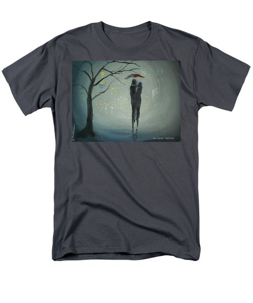 View Of The City Men's T-Shirt  (Regular Fit) by Raymond Doward