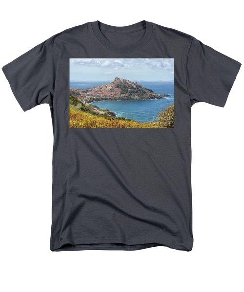 View On Castelsardo Men's T-Shirt  (Regular Fit) by Patricia Hofmeester