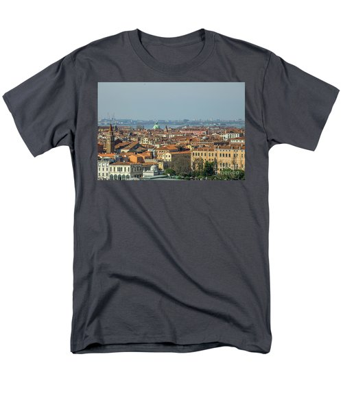 View On Venice Men's T-Shirt  (Regular Fit) by Patricia Hofmeester