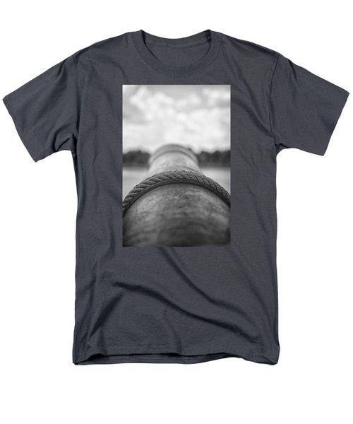 View Through The Gun Port Men's T-Shirt  (Regular Fit) by Bob Decker