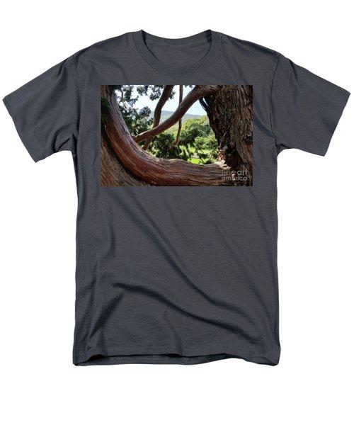 View Through The Tree Men's T-Shirt  (Regular Fit) by Carol Lynn Coronios