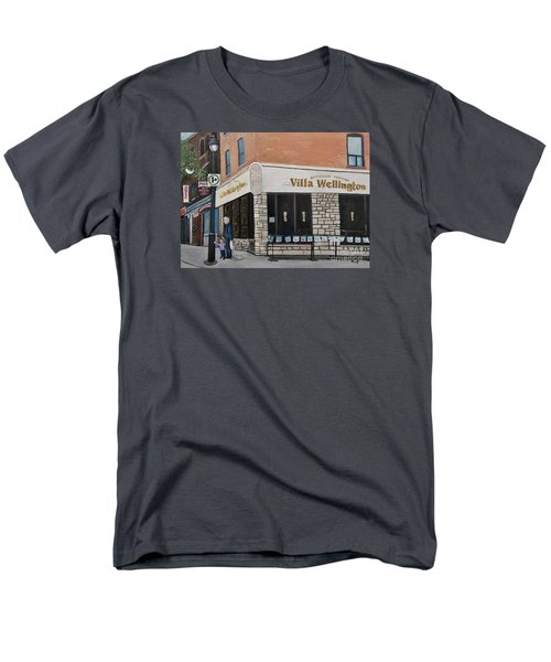 Villa Wellington In Verdun Men's T-Shirt  (Regular Fit) by Reb Frost