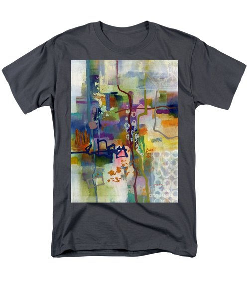 Men's T-Shirt  (Regular Fit) featuring the painting Vintage Atelier 2 by Hailey E Herrera