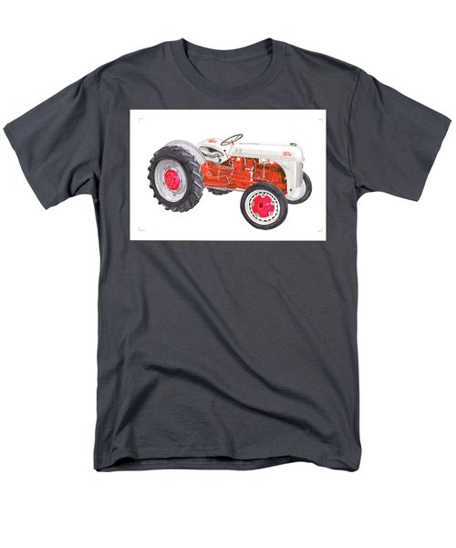 Men's T-Shirt  (Regular Fit) featuring the painting Vintage Ford Tractor 1941 by Jack Pumphrey