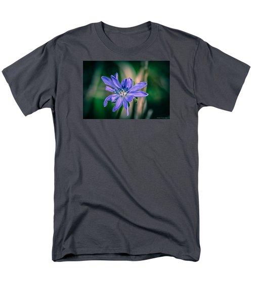 Violet Men's T-Shirt  (Regular Fit)