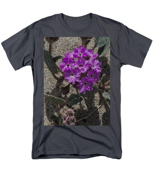 Violets In The Sand Men's T-Shirt  (Regular Fit) by Jeremy McKay