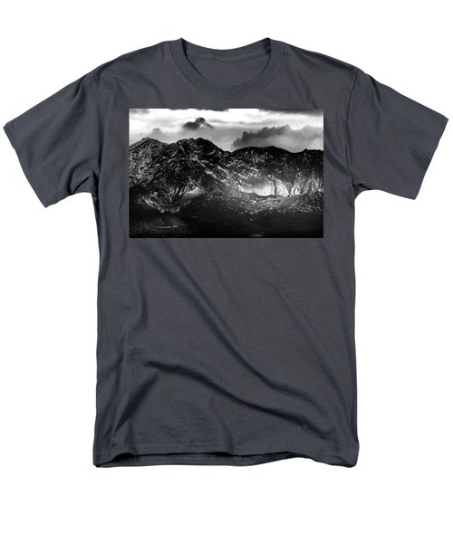 Men's T-Shirt  (Regular Fit) featuring the photograph Volcano by Hayato Matsumoto