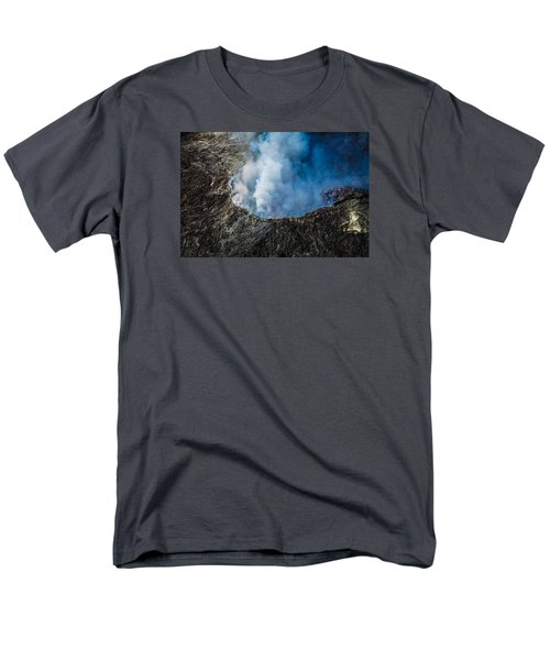Volcano Men's T-Shirt  (Regular Fit) by M G Whittingham