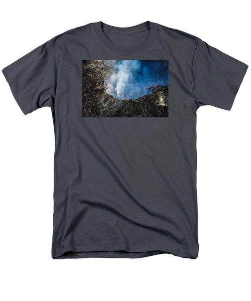 Volcano Men's T-Shirt  (Regular Fit)